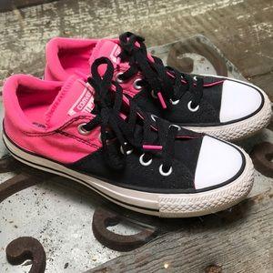 Converse Allstars: hot pink and black: Sz 5